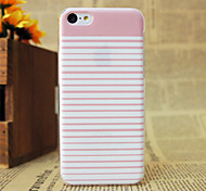 Pink Stripes Pattern Hard Case for iPhone 5C