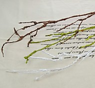 68CM Simple White Green Coffee Dried Branch