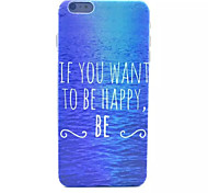 Ocean Pattern Hard Back Case for iPhone 6
