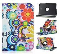 360-Grad-Drehung PU-Leder-PC-Kasten mit flexiblen Riemen und Halter für Samsung Galaxy Tab 8.0 a t350