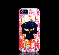 crânio capa padrão para iphone 4 / iphone 4 s caso