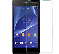 Professional High Transparency LCD Crystal Clear Screen Protector with Cleaning Cloth for Sony Xperia E4