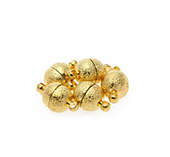 5pcs Gold Tone Clasps for Necklace DIY Making
