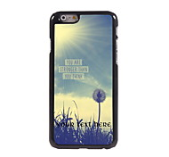 Personalized Gift You Are Strong Than You Think Design Aluminum Hard Case for iPhone 6 Plus