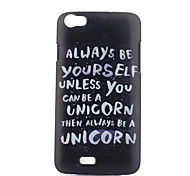 Letter Pattern PC Phone Case For Wiko LENNY