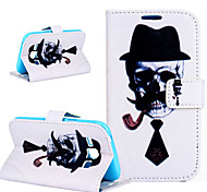 2015 The New High-Grade Painting Sir M PU Hard Case for Samsung Galaxy J1