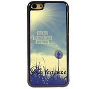 Personalized Gift You Are Strong Than You Think Design Aluminum Hard Case for iPhone 5C