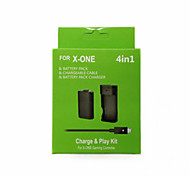 4 in 1 Rechargeable Batteries & Chargers for Xbox One/Xbox 360 Wireless Controller