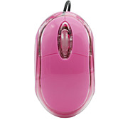 Mini 3-Key 1000dpi Optical USB Wired Mouse