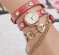 Women's Watches A Chain Belt Winding Copper Bracelet Watch Retro Watch