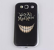 For Samsung Galaxy Case Ultra-thin Case Back Cover Case Word / Phrase TPU Samsung S3