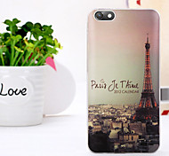 New Fashion 3D Beauty Flower Colorful Totem Tpu Cartoon Soft Case for Huawei Honor 4X