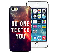 No One Texted You Design Hard Case for iPhone 4/4S