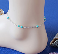 Fashion Summer Beach Simple Bead Hand Made Anklet