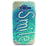 Fluorescence Smile Pattern PC Hard Case forSamsung Galaxy Core Prime G360 G360H G3606 G3608 Back Cover