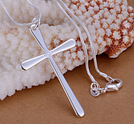 Colgantes Brillante Cross Shape plata 1