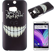 For HTC Case Pattern Case Back Cover Case Black & White Hard PC HTC