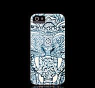 tampa do padrão de tigre para iphone 4 / iphone 4 s caso