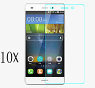 [10-Pack]Professional High Transparency LCD Crystal Clear Screen Protector with Cleaning Cloth for Huawei P8 mini
