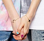 Moon Stars Exquisite Bracelet Couple Models Sisters Bracelet Jewelry