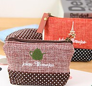 Fashionable Fabric Time Stylish Multi Color Cloth Coin Purse (Random Delivery)