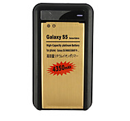 S5-GD 4350mAh Cell Phone Battery+Charger Golden for Samsung Galaxy S5