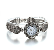 Sjeweler Ladys Fashion Jewelry Plating Antique Silver Latest Bracelet Watch