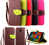New Arrival Hot Selling leaf wallet Case FOR Motorola MOTO X+1 case with card holders