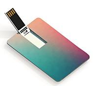 64gb usb flash drive cartão de design especial