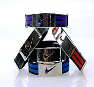 Fashion Trendy Sport Titanium-Steel Bracelet(Black/Red/Purple/Blue)(1Pc)