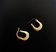 Women's Silver and Gold Filled Hoop Earring