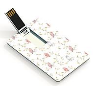 64gb búhos tarjeta de diseño de una unidad flash USB