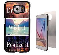droomt het en willen het, realiseert het ontwerp aluminium koffer voor Samsung Galaxy s6