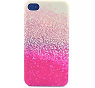 Glitter Pattern transparent gefrostet PC Schutzhülle für iPhone 4 / 4s
