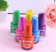 Skin-friendly Vitamin Candy Color Nude Color Nail Polish  (6 Colors Optional)