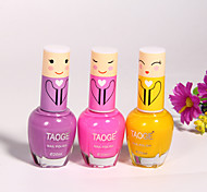 Nontoxic Candy-colored Nail Polish  (3 Colors Optional)