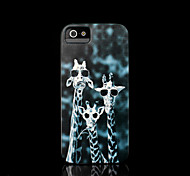 giraffe patroon dekking voor iphone 4 case / iphone 4 s case