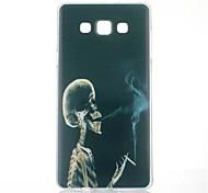 курит шаблон ТПУ окрашены мягкий чехол для Samsung Galaxy a5