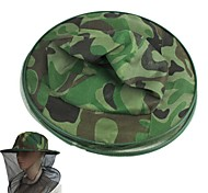 Camouflage Fishing Mosquito Tent Pest Control Sunscreen Bee Net Cap