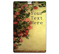 Personalized USB Flash Drive Flower Design 64GB Card USB Flash Drive