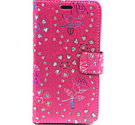 Flower PatternPeacock PatternDrill Point Card Case for Samsung GALAXY CORE Prime G360 (Assorted Colors)
