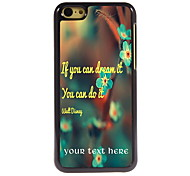 Personalized Gift You Can Do it Design Aluminum Hard Case for iPhone 5C