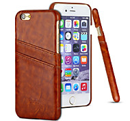 New Arrive Business Style Mutil-functional  Leather Case for Iphone 6 Fashional  Card Hoder Pouch Cover Free Shipping