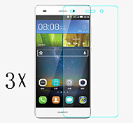 [3-Pack]Professional High Transparency LCD Crystal Clear Screen Protector with Cleaning Cloth for Huawei P8 mini