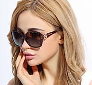 Sunglasses Women's Elegant / Fashion / Polarized Oversized Black / Brown / Red / Purple / Blue Sunglasses Full-Rim