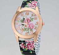 Ladies'  Fashion Wrist Watch High-Grade Zhivago Quartz Watch Plastic  Elastic Strap