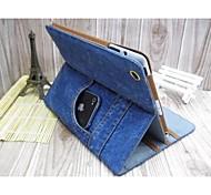 bolsa de mezclilla con funda protectora soporte para iPad mini