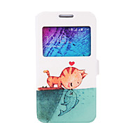 Cellphone Case Protection With Drawing Cartoon Shell for Samsung Galaxy J1