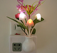 Intelligent Light Control LED Night Light Wall Sconce Rose Bud