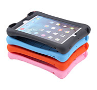 de silicona suave ambiental a través del altavoz de color puro caso de la cubierta de todo el cuerpo a prueba de golpes para apple ipad
